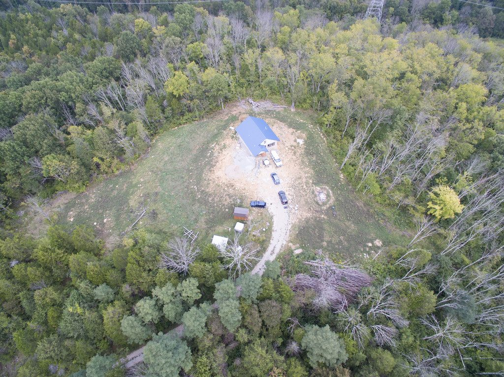 Aerial shot of our off grid property - accidentalhippies.com