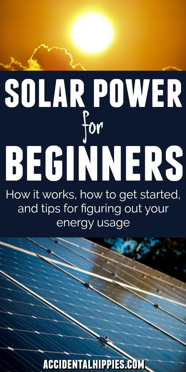 Wondering how solar works? Get a beginner's primer to learn how solar energy works! Take a look at our off grid solar system, check out easy ways to get started with solar, and learn how to start gauging your energy usage in your home. #solarpower #offgrid #gridtied #solarenergy #renewableenergy #renewables