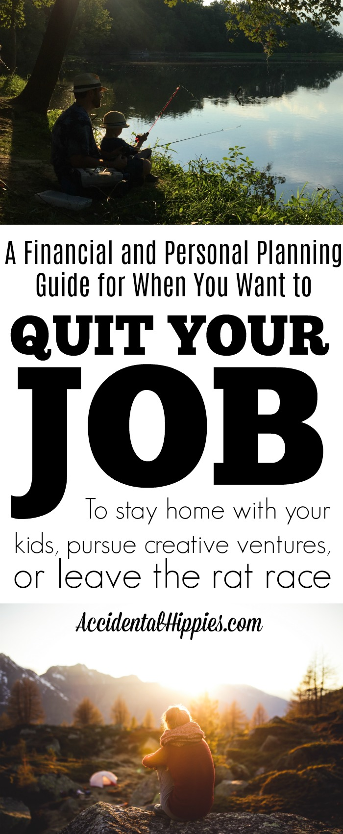 Making the decision to stay home with your kids, pursue creative ventures, or just quit the rate race isn't always easy. Here's what you should do before you make the leap. #stayathomemom #personalfinance #oneincome