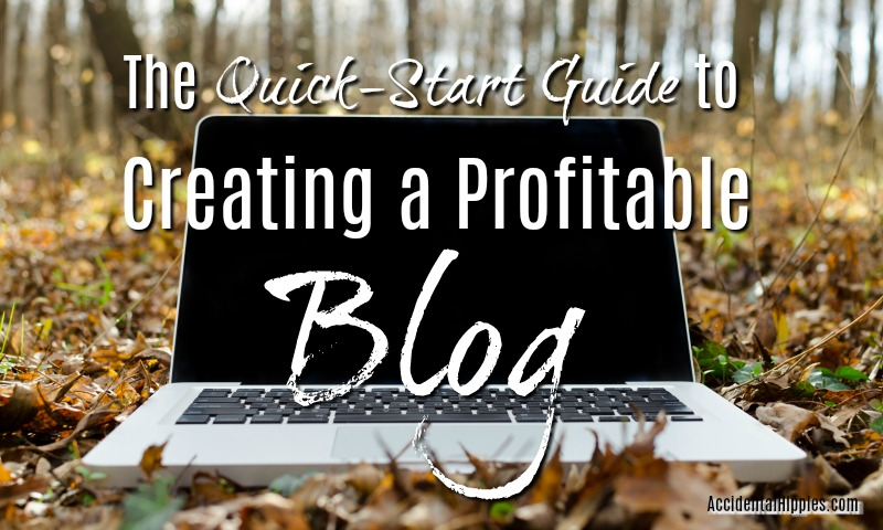 Want to create an engaging and profitable blog but don't know how to start? This easy, beginner's quick-start guide will get you going.