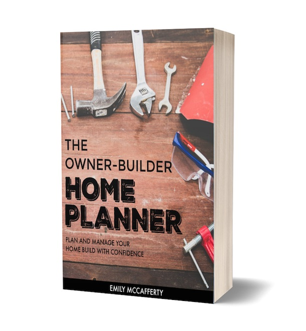 The Owner-Builder Home Planner is a clear, actionable tool to help you go from planning your home all the way through building and moving in without the stress and overwhelm. We'll teach you how to save tens of thousands of dollars by building your own home from scratch.