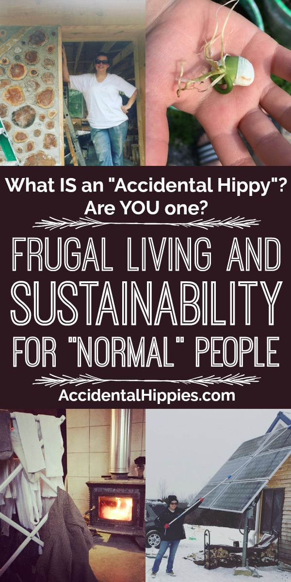"We've been asked what an ""accidental hippy"" even is, and truthfully, it's easier than you think. From just being frugal to finding natural and zero waste solutions to everyday problems, chances are YOU might be an accidental hippy too. What is it? And what can you learn from our weird journey to help you along? Click here to find out."