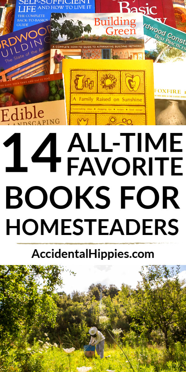 Our all-time favorite homesteading books covering everything from green building and gardening to permaculture and design. Classic homesteading books and new favorites are on this list. Great gifts for the homesteader in your life or for your own self-improvement.