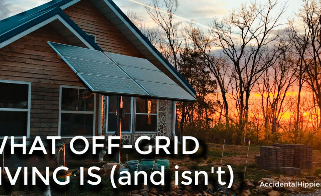 Here's what off-grid living means (and doesn't), how our family lives it, and how you can get started TODAY.