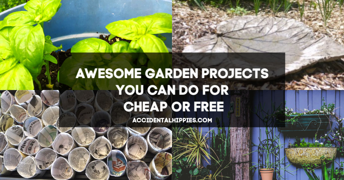 Garden Projects You Can Do For Cheap Or Free Accidental Hippies